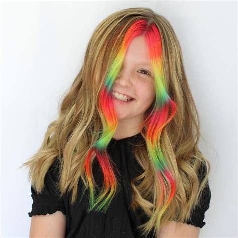 40 Ideas of Money Piece Hair Highlights for Teenage Girls ...