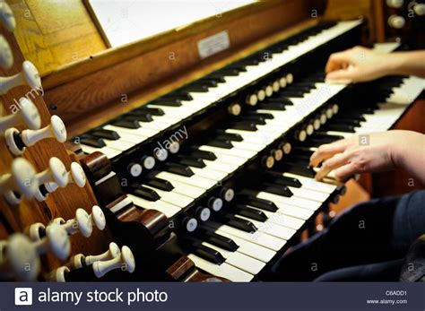 Pipe Organ Keyboard Stock Photos And Pipe Organ Keyboard
