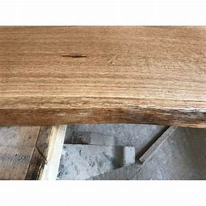 Tischplatte Eiche Geölt : baumscheibe waschtisch tischplatte unbes umt gerade eiche baumkante 150x45x4 5cm ge lt ~ Frokenaadalensverden.com Haus und Dekorationen