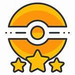 Pokemon Icon Trainer Star Poke Three Icons