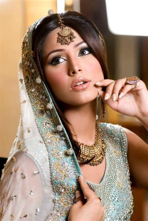 Beautiful Bridal Faces Bridal Makeup Pakistani Brides
