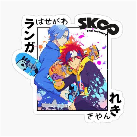 sk8 the infinity anime langa hasegawa and reki kyan