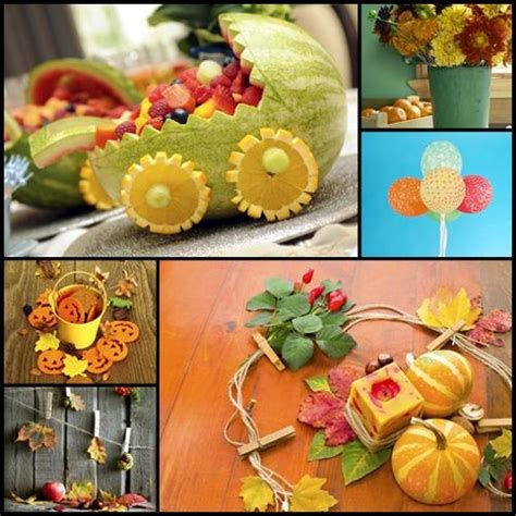 unique baby shower   amazing fall themed ideas