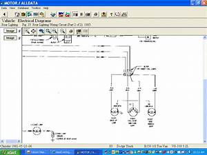 Need Wiring Diagram For 1985 Dodge Van Lighting