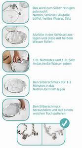 Silber Reinigen Natron : schmuck reinigen mit natron modischer schmuck 2018 ~ Markanthonyermac.com Haus und Dekorationen
