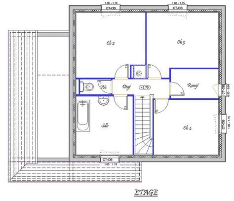 plan 3 chambres vision 118 m type f5 catalogue constructeur maison
