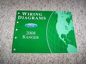 2008 Ford Ranger Truck Wiring Diagram Manual Xl Xlt Sport