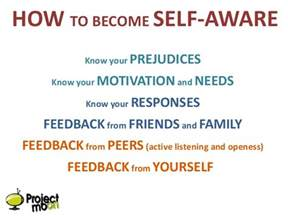 How To Manage Your Worksheets Self Awareness 2012