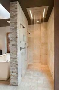 Pommeau De Douche Italienne : douche italienne 33 photos de douches ouvertes ~ Edinachiropracticcenter.com Idées de Décoration