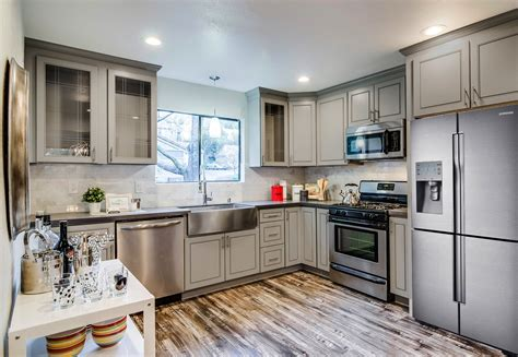 grey maple kitchen cabinets grey stained maple kitchen cabinets kitchen cabinet 4083