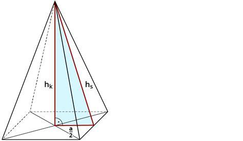 untersuchen der eigenschaften einer pyramide kapiertde