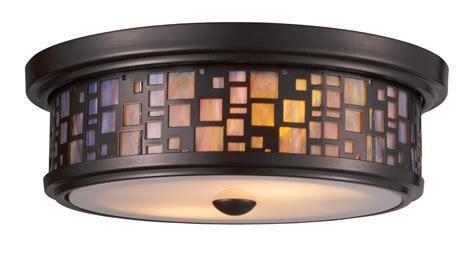asian flush mount ceiling light elk lighting 70027 2 tiffany flushes flush mount ceiling