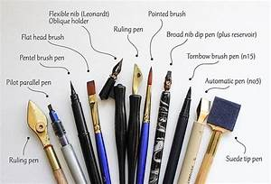 calligraphic tool adventures kirsten burke With best tools for hand lettering