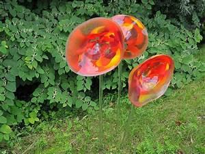 Glaskunst Für Den Garten : glasblumen glaskunst ~ Watch28wear.com Haus und Dekorationen