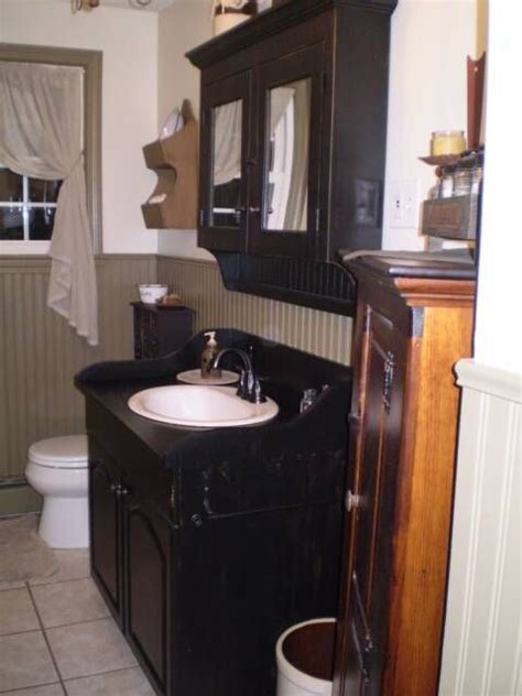 primitive bathroom vanity ideas 17 best ideas about primitive bathrooms on