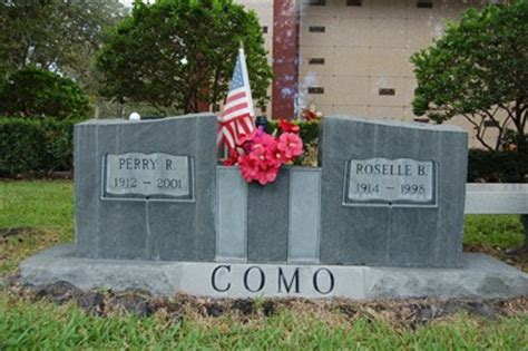 perry como how old perry como tuquesta florida grave of a famous person