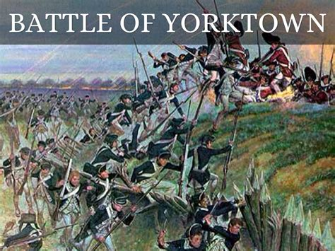 revolution siege the battle of yorktown was a battle that the won