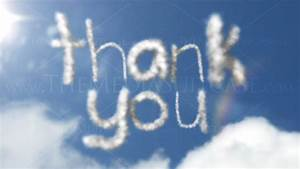 Sky Writing Animation - Thank you - High Definition ...