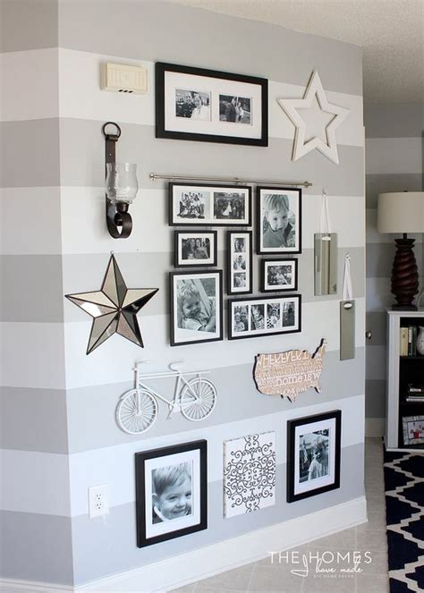 langkah mudah menata foto galeri  dinding  rapih