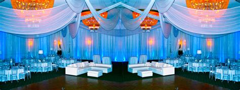 draping and lighting for wedding pipe drape rental miami ft lauderdale south florida