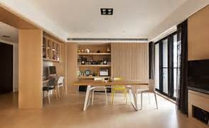 Modern Open Space Natural House Design This Dining Office Space Welcomes Natural Light Through A Wall Of