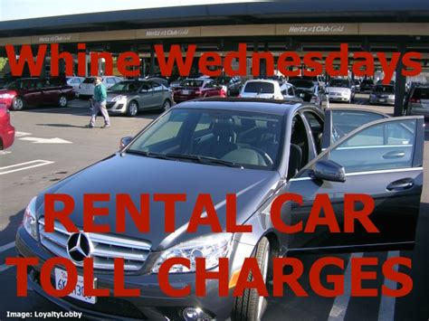 Road Toll Charges With Car Rental