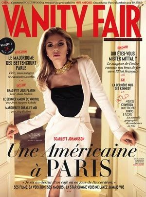 Vanity Fair Us Edition by Johansson Is The Cover For Vanity Fair