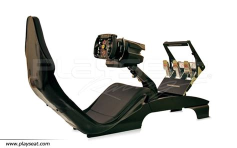 siege simulateur de conduite thrustmaster f1 wheel add on pour pc et ps3 playseat