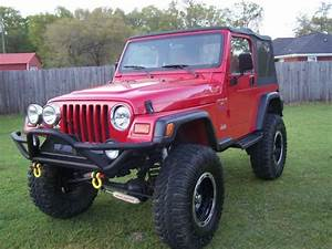 Buy Used 97 Jeep Wrangler With 6 Inch Lift On 37x17 In