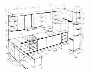 Plan De Cuisine 3d : plan de cuisine gratuit en ligne maison ~ Nature-et-papiers.com Idées de Décoration