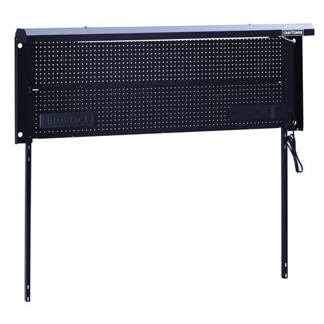 craftsman   metal workbench backwall sears outlet