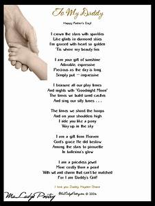 Fathers Day Poems From Daughter | ... Poetry • Father's ...