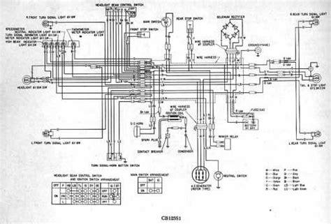 1976 honda cb550 wiring diagram honda auto wiring diagram