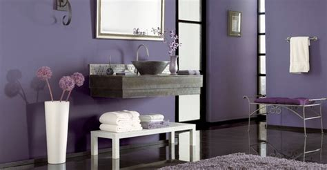 Cool Purple Bathroom Design Ideas-digsdigs
