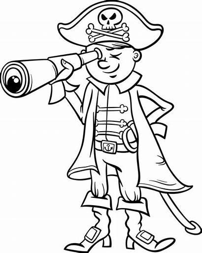 Coloring Freepik Cartoon Pirate Boy
