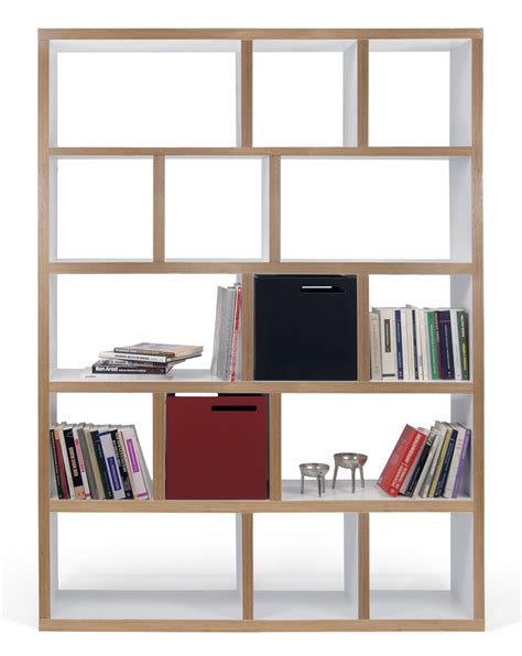 Plywood Bookcase by Rotterdam Bookcase L 150 X H 198 Cm L 150 Cm White