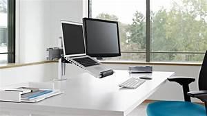 Support Pour Pc Portable : plurio bras support ecran plat ordinateur steelcase ~ Mglfilm.com Idées de Décoration