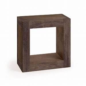 Etagere Cube Bois : etagere murale cube bois 14 id es de d coration int rieure french decor ~ Teatrodelosmanantiales.com Idées de Décoration