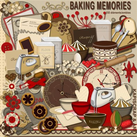image scrapbooking cuisine