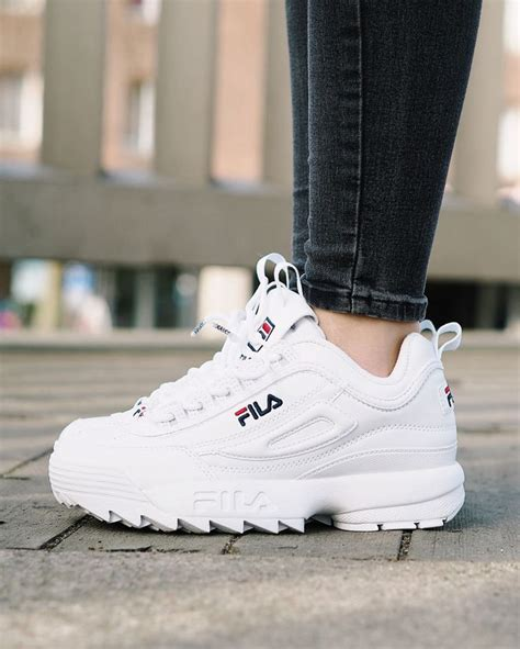 Fila Disruptor Shoes White Uniex Sneakers