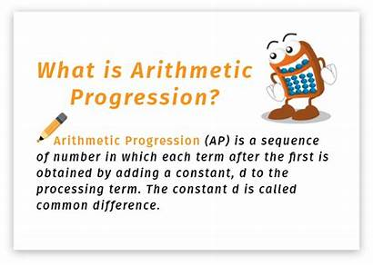 Arithmetic Calculator Progression Example Sequence Numbers Calculate