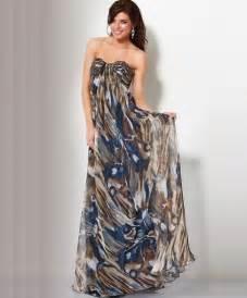 long strapless summer dress 2011