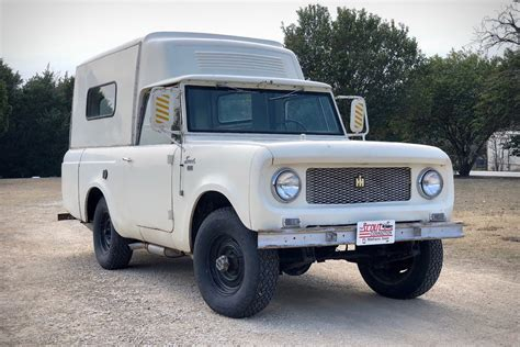 1963 International Harvester Scout Camper   Uncrate
