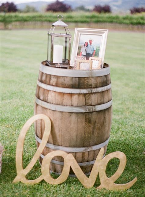 35 Creative Rustic Wedding Ideas To Use Wine Barrels