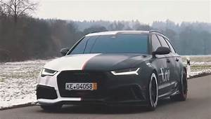 Jon Olsson's New 705 HP Audi RS6+ Is a Screaming Two Faced
