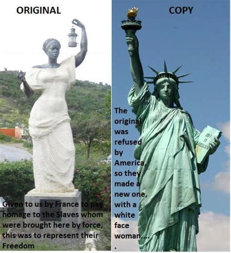 The Original Statue Liberty Black Hair Media Forum