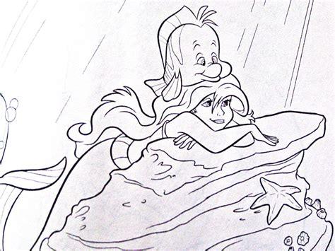 Ariel Disney Coloring Pages