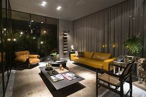 Modern living room lighting