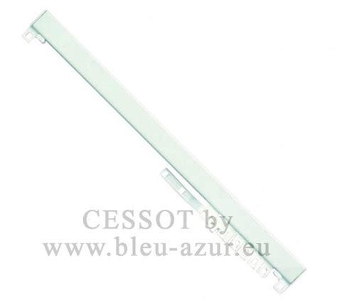 tringle a rideau 3m50 280 rail 24 x 16 montage lance rideau chromalac acier blanc achat rails classique 24x16mm