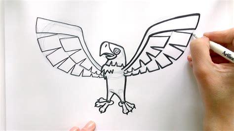 draw  cartoon eagle  animal jam zooshii